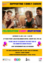 Connected carers events coming up!
